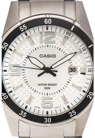Casio Time Management fémszíjas karóra férfi