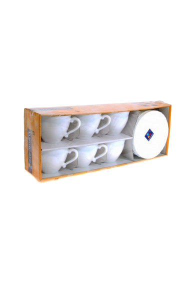 Luminarc Serviciu de ceai 12 piese  Cadix, 6 cesti 220 ml + 6 farfurioare Femei