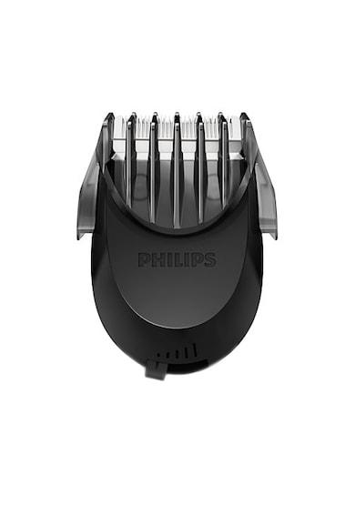 Philips Самобръсначка  S9711/31, Акумулатор, 1 Аксесоар, 3 Глави, Самопочистване, Тример, Черна Мъже