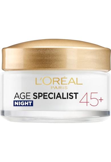 L'Oreal Paris Crema antirid pentru fata  Age Specialist 45+ de noapte, 50 ml Femei