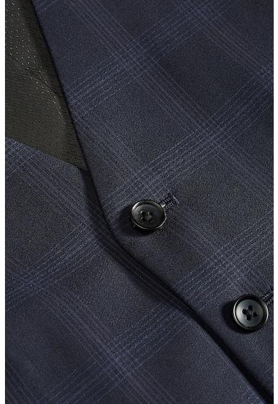 NEXT Vesta eleganta din lana in carouri Barbati