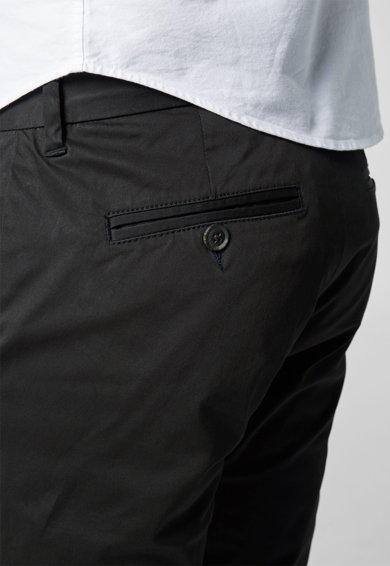 NEXT Pantaloni chino negri slim fit Barbati