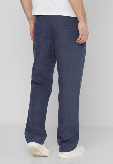 NEXT Pantaloni bleumarin slim fit din in Barbati