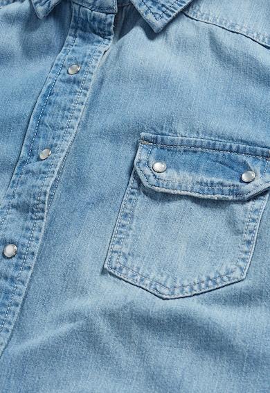 NEXT Camasa bleu din denim cu buzunare Femei