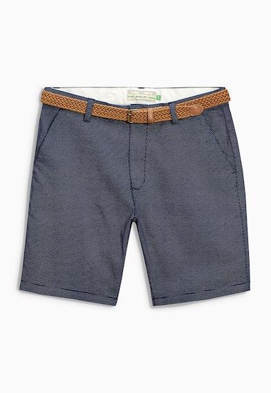 NEXT Тъмносин къс панталон на точки Мъже