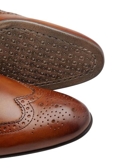 NEXT Pantofi Oxford Brogue de piele Barbati