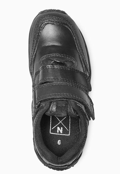 NEXT Pantofi sport negri de piele Baieti