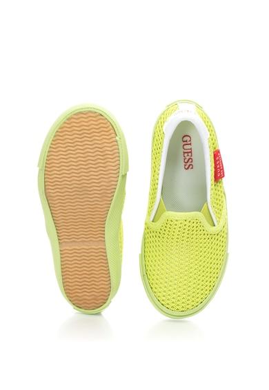 Guess Pantofi slip-on de plasa Fisa Fete