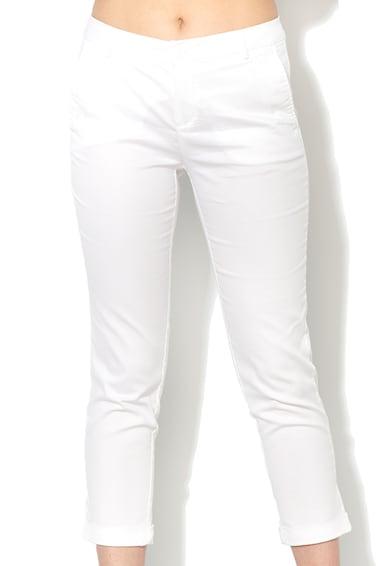 United Colors of Benetton Pantaloni chino crop albi Femei