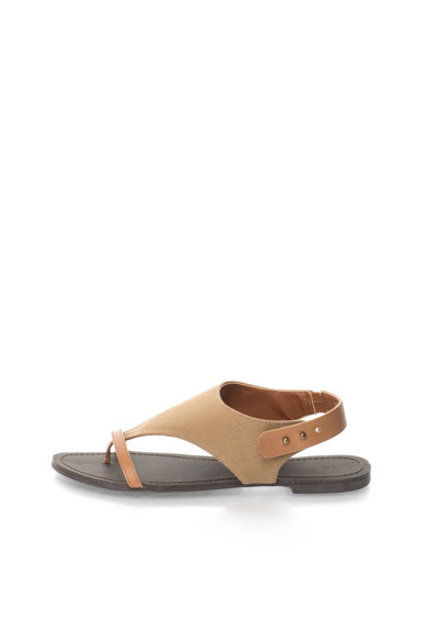 United Colors of Benetton Sandale slingback in nuante de maro Femei