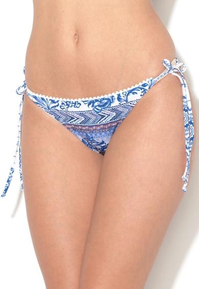 DESIGUAL Fehér&Kék Megkötős Fürdőruha Alsó női