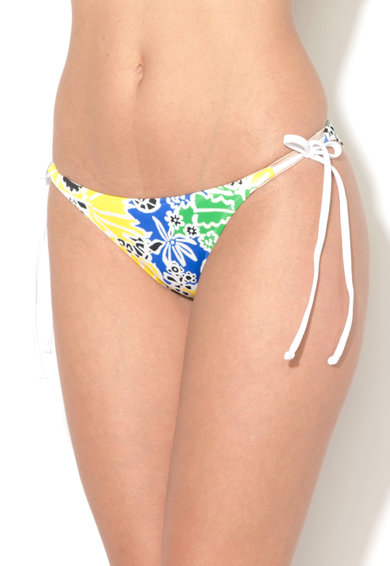 DESIGUAL Slip multicolor cu prindere laterala Sheila Femei