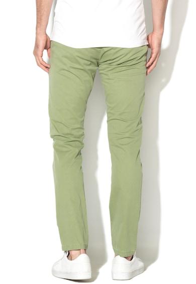 Zee Lane Denim Pantaloni chino cu model grafic discret Barbati