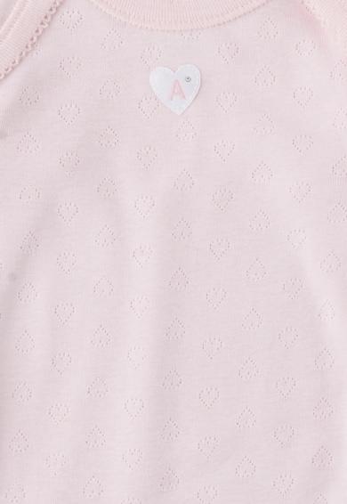 Absorba Детски комплект бодита в бяло и розово - 2 броя Момичета