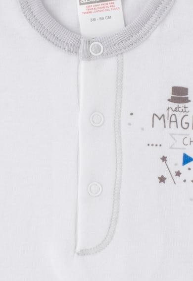 Absorba Детски комплект бодита в бяло и перленосиво- 2 броя Момчета