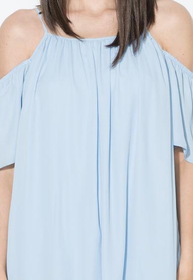 Zee Lane Collection Rochie bleu cu decolteu pe umeri Femei