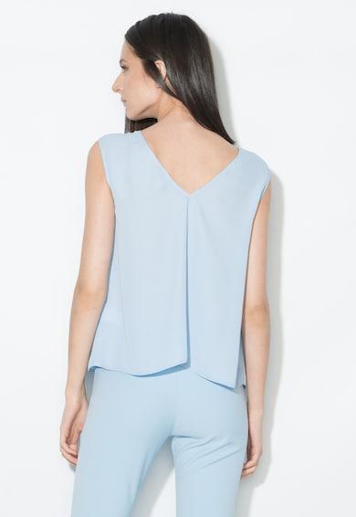 Zee Lane Collection Top bleu transparent cu decolteu in V Femei