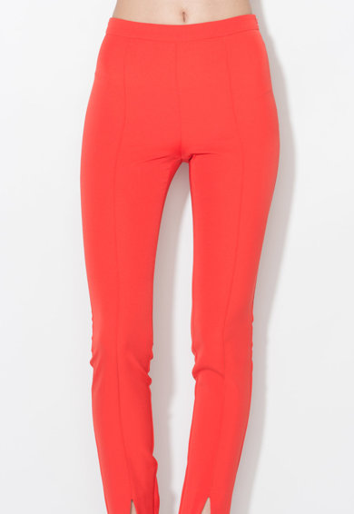 Zee Lane Collection Яркочервен панталон с ръб Жени