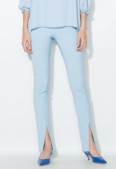 Zee Lane Collection Светлосин панталон с ръб Жени