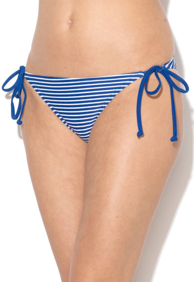 Zee Lane Slip bleumarin cu alb in dungi si cu prindere laterala Femei