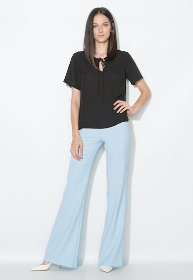 Zee Lane Collection Bluza neagra cu croiala lejera Femei