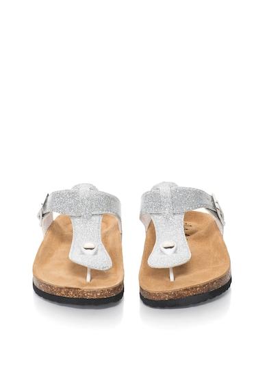 Australian Сребристи чехли с брокат Жени