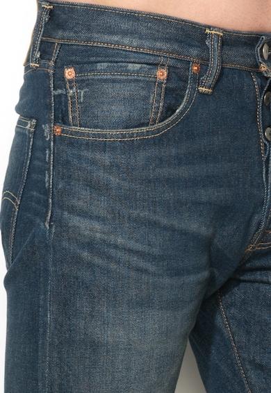 Levi's Blugi bugsy albastru inchis cu croiala conica personalizata 501 Barbati