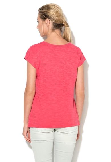 Esprit Тениска в меланж на розов гренадин Жени
