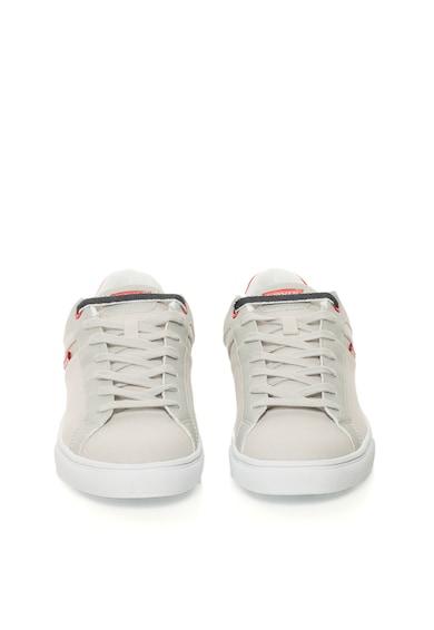 Levi's Светлосиви спортни обувки с текстилни детайли Мъже