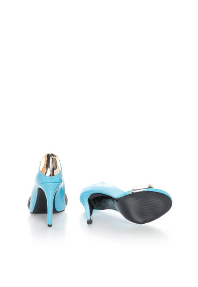 John Galliano Обувки с лачена повърхност и отворен връх Жени