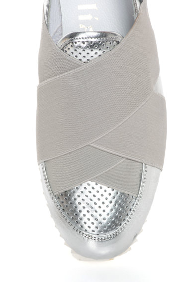 John Galliano Bebújós Bőrcipő Fémhatással női