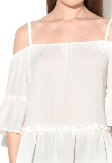 Haily's Haily's, Млечнобяла блуза с голи рамене Жени