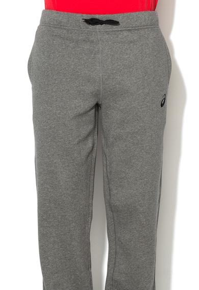 Asics Спортен панталон в сив меланж Мъже