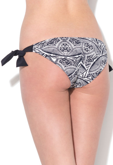 Sloggi Slip bleumarin inchis si alb cu prindere laterala Femei