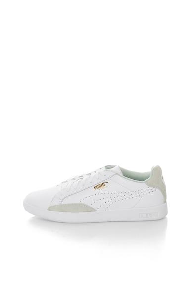 Puma Match Lo Fehér Bőrcipő női
