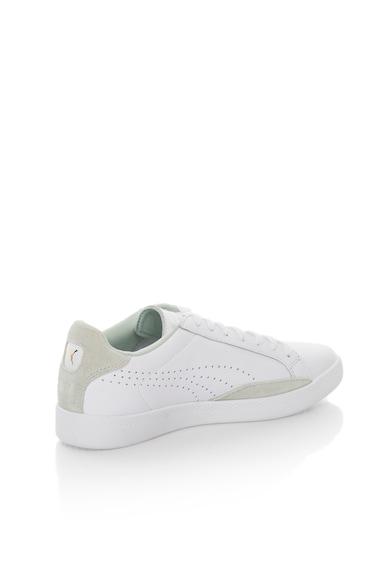 Puma Кожени спортни обувки в бяло Жени