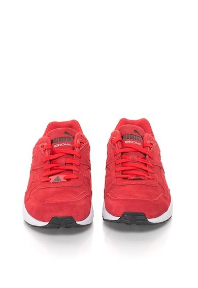 Puma R698 Piros Nyersbőr Cipő férfi