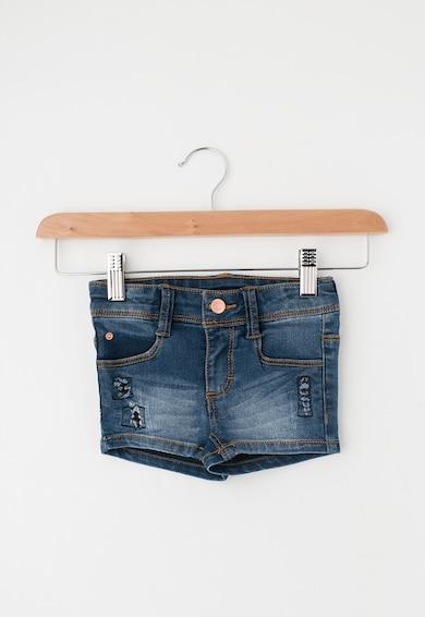 Esprit Pantaloni scurti slim fit albastri din denim Fete