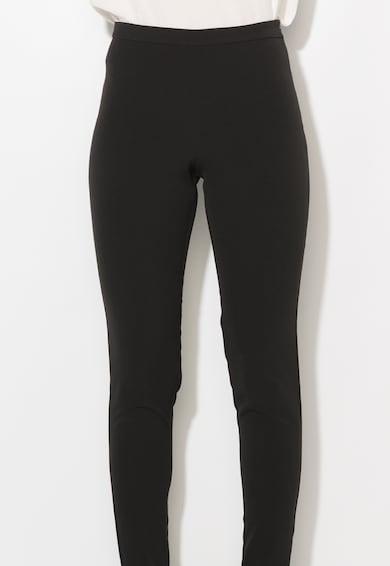 Zee Lane Collection Черен прилепнал панталон с набирания Жени