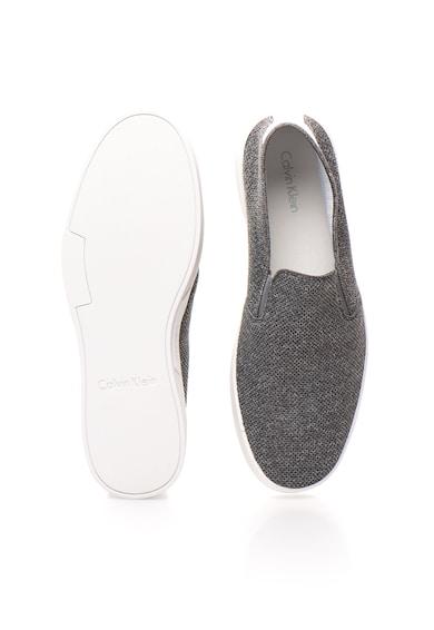 Calvin Klein Ives Melange Szürke Bebújós Cipő férfi