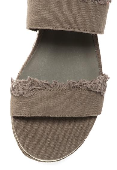 Calvin Klein Jeans Sandale slingback verde militar Muriel Femei