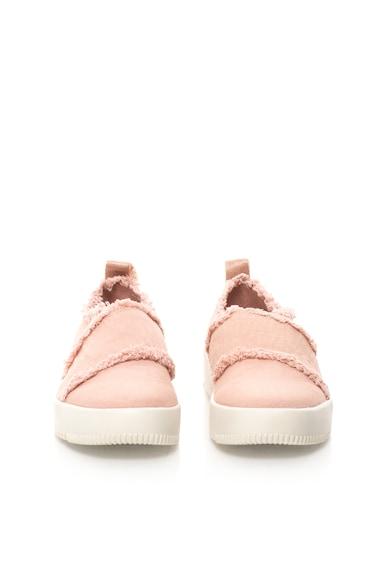 Calvin Klein Jeans Платнени обувки без закопчаване Dale с незавършени краища Жени