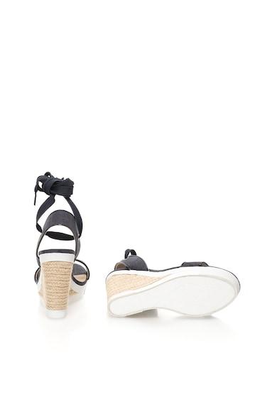 Calvin Klein Jeans Sandale wedge bleumarin inchis Eleanor Femei