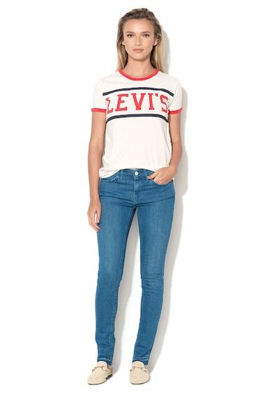 Levi's Blugi skinny albastri Line 8 Femei