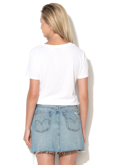 Levi's Tricou alb cu imprimeu logo Femei