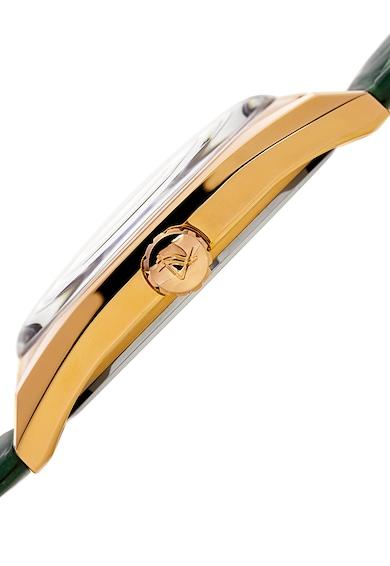 August Steiner Ceas verde cu auriu Femei