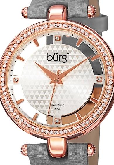 BURGI Часовник с кристали и диамнати Жени
