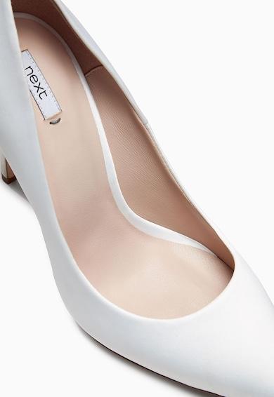 NEXT Fehér Magas Sarkú Cipő női