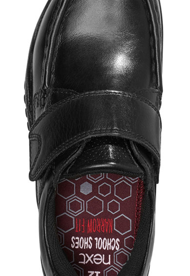 NEXT Pantofi de piele cu velcro Narrow Fit Baieti