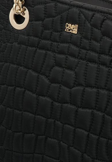 Cavalli Class Черна капитонирана чанта Жени